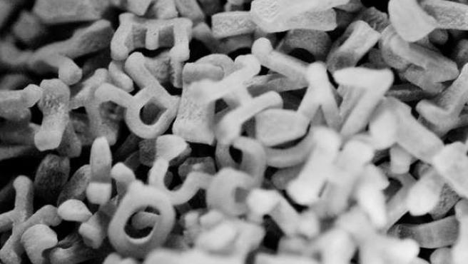 Dislexia, letras, educación