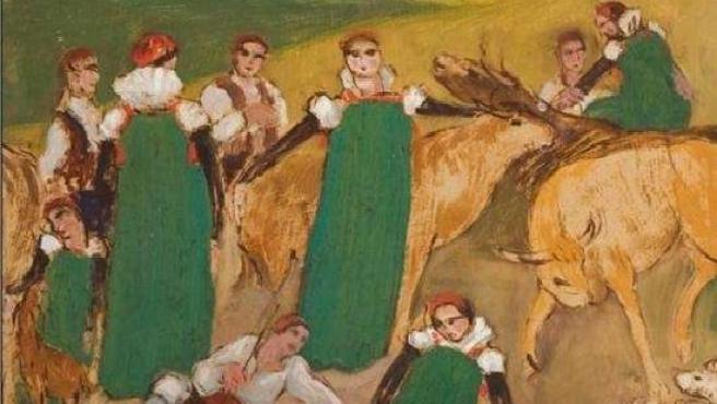 'Colores De Ansó. Félix Lapuente - Ramón Acín'.