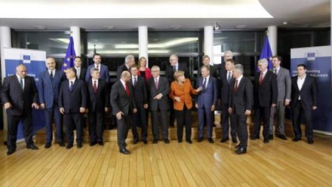 Responsables de los países miembro de la Unión Europea se reunieron el pasado 25 de octubre en Bruselas para tratar la crisis migratoria.