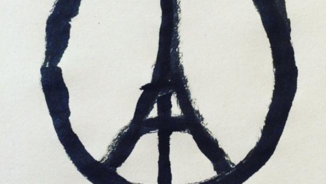 La imagen de 'Paz para París'.