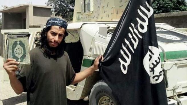 Abdelhamid Abaaoud, considerado el autor intelectual de los atentados de París del 13 de noviembre.