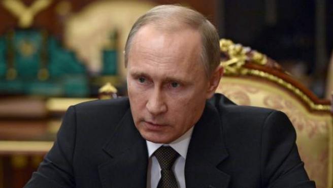 El presidente ruso Vladimir Putin en la cumbre del G-20.