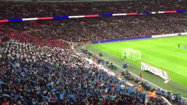 La Marsellesa en Wembley.