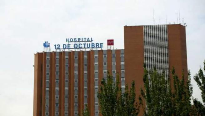 Edificio del hospital 12 de Octubre de Madrid.