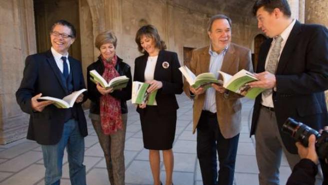 Presentación del libro sobre el estudio en la Alhambra.