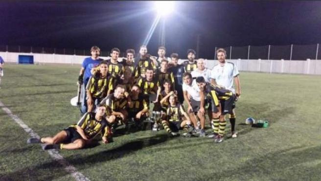 Plantilla del Fútbol Club Villafranco.