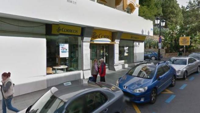 Oficina de Correos en Marbella.