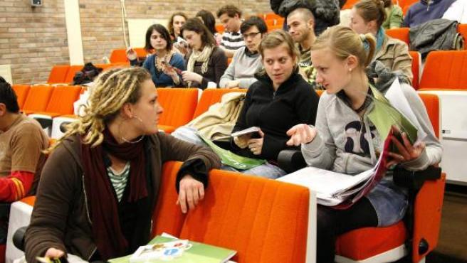 Las becas Erasmus son las más conocidas para el intercambio de estudiantes universitarios.