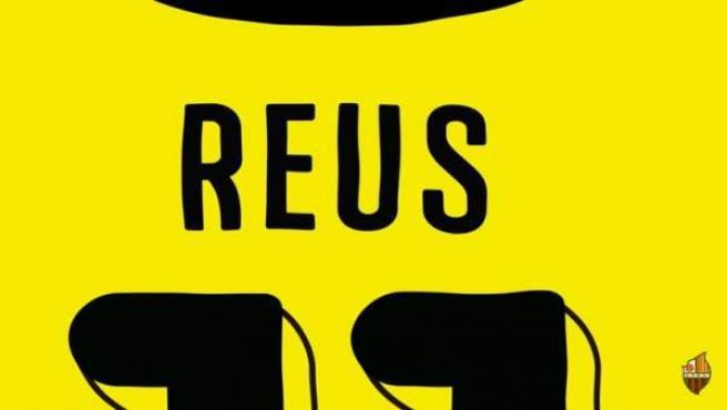 Camiseta de Reus en un vídeo del equipo catalán.