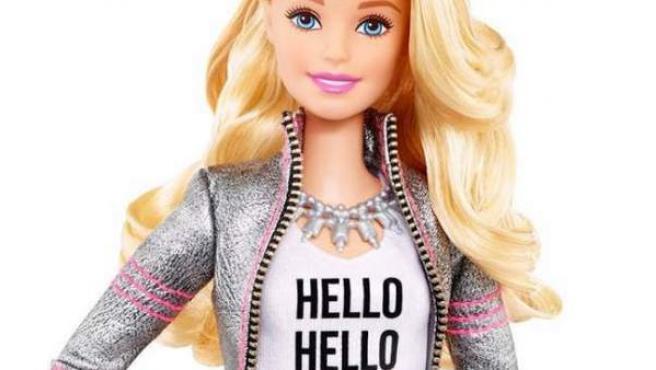 Un ejemplar de la muñeca Barbie Hello.
