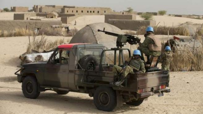 Cascos azules de la ONU en Mali, en una imagen de archivo.