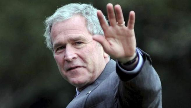 El expresidente de EE UU, George W. Bush.