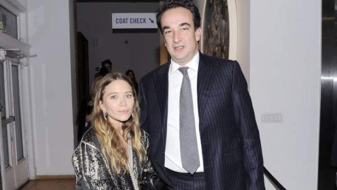 Mary-Kate Olsen y Olivier Sarkozy, en una imagen de archivo.