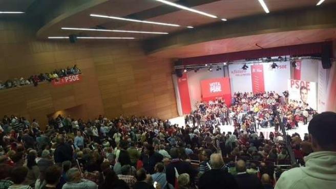Acto del PSOE en Toledo