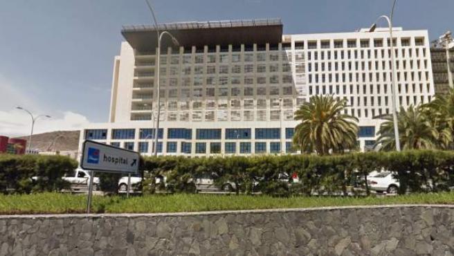 Imagen del hospital universitario Insular de Gran Canaria.