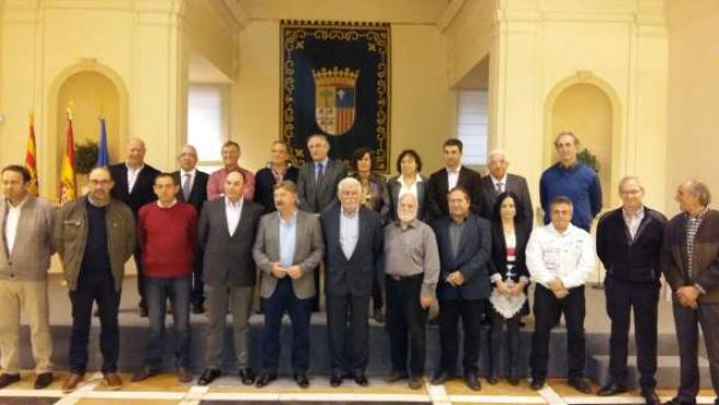 Firma del convenio entre Olona y los 20 grupos de acción local.