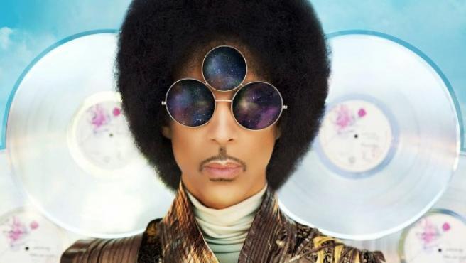 Portada del disco 'Art Official Age' de Prince.