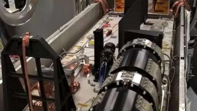 El buscador de exoplanetas Carmenes, instalado en Calar Alto