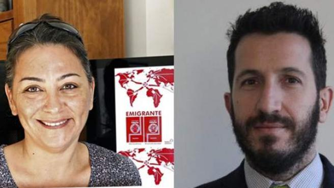 Paqui Segarra va a donar su voto a Juan Manuel, que vive en Reino Unido y no ha conseguido entrar en el censo electoral.