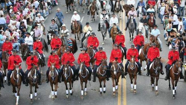 La Fiesta del Tope de Costa Rica es una exaltación del caballo.