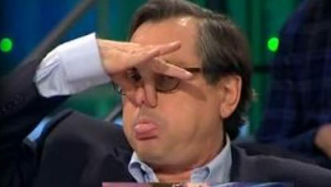 Javier Sardá y Francisco Marhuenda en un instante del programa de 'La Sexta Noche'.