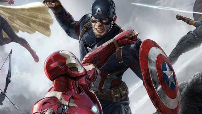 'Capitán América: Civil War': 'Concept art' de la batalla superheroica