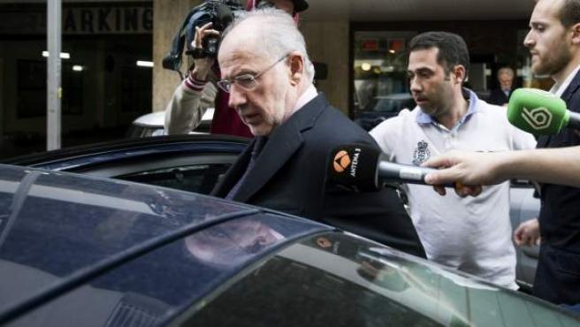 El exvicepresidente del Gobierno y ex director gerente del FMI, Rodrigo Rato, quien está siendo investigado como supuesto autor de delitos fiscales.