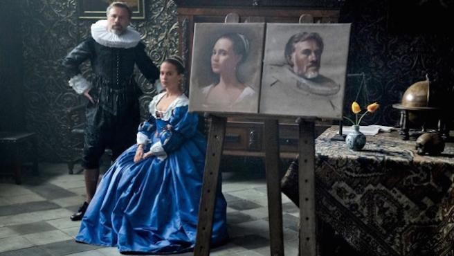 Primer vistazo a Alicia Vikander y Christoph Waltz en 'Tulip Fever'