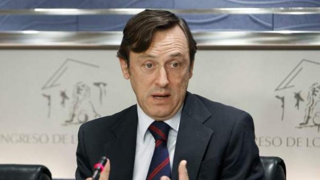 Rafael Hernando, portavoz del PP en el Congreso.
