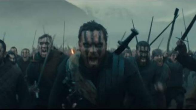 Michael Fassbender, en su papel de Macbeth.