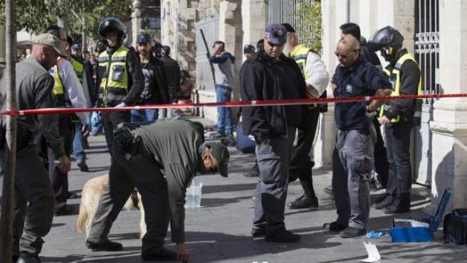 Ataque con arma blanca en Jerusalén.