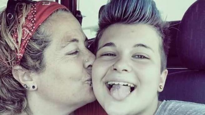 Imagen cedida a 20minutos de Alan, el menor transexual de Barcelona que se quitó la vida por el acoso escolar que sufría.