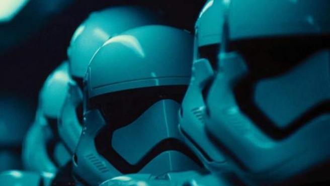 Una imagen de los soldados imperiales en 'El despertar de la fuerza'