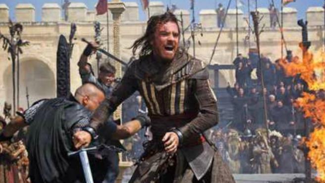 Nuevas fotos de 'Assassin's Creed' con Michael Fassbender en plena acción
