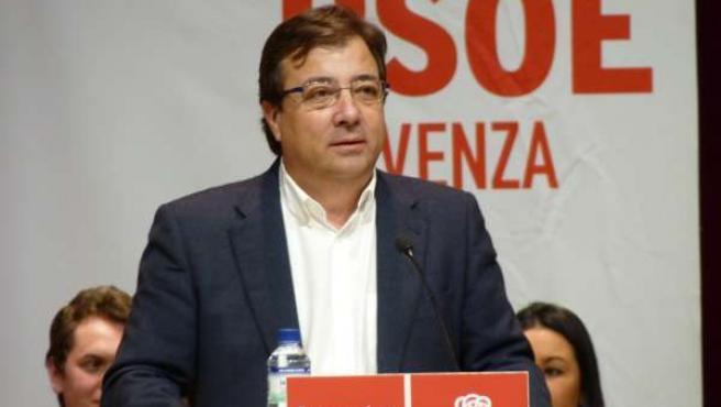 Fernández Vara en Olivenza