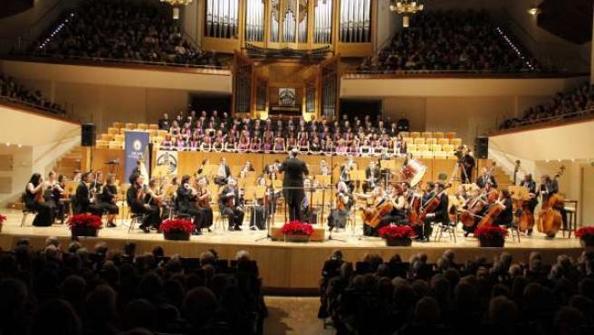 Crónica Del Concierto De La Sinfónica De La UCAM En El Auditorio Nacional