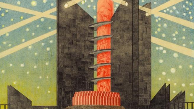 Max Gerntke imaginaba así la Hamburgo del futuro