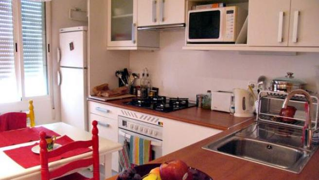 Una cocina en una imagen de archivo.