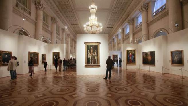 Una imagen de una exposición en el madrileño Museo del Prado.