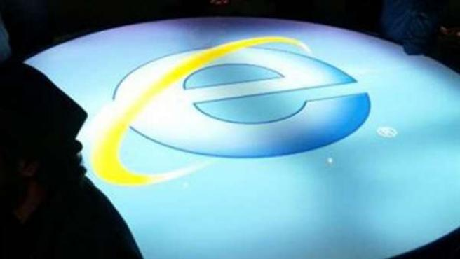 Logo de Internet Explorer.