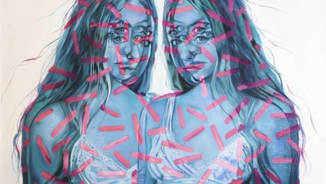 Obra de la artista canadiense Alex Garant