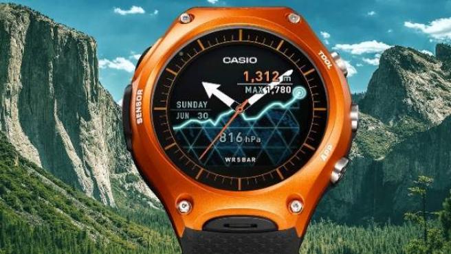 El WSD-F10, primer smartwatch de Casio.