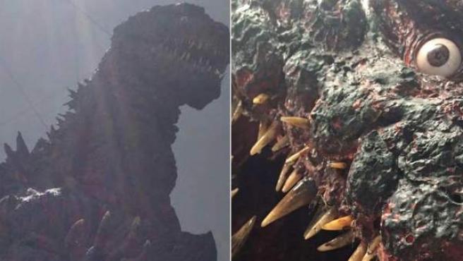 Godzilla tendrá un aspecto más agresivo en su regreso en 2016.