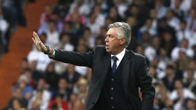 Italian coach Carlo Ancelotti.