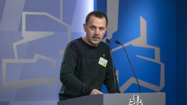 El parlamentario de EH Bildu Unai Urruzuno.