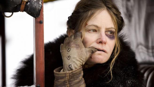 "Jennifer Jason Leigh: ""Kurt Russell es la única persona a la que me encadenaría"""