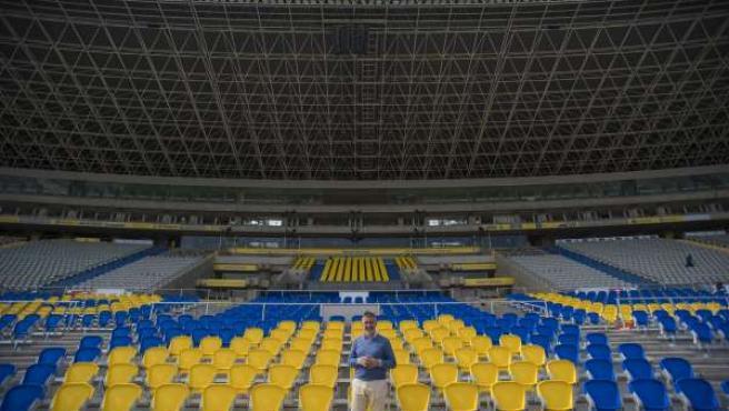 El Estadio De Gran Canaria Finaliza La Remodelaci??N Del Graderío Y Aumenta Su A