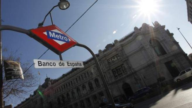 Imagen de archivo de la sede del Banco de España en Madrid.