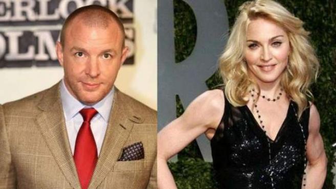 Madonna y el que fue su marido, el director británico Guy Ritchie.