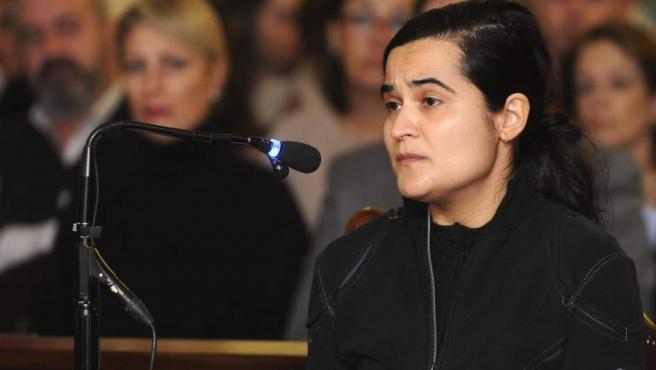 Triana Martínez, una de las tres acusadas por el crimen de la presidenta de la Diputación de León, Isabel Carrasco.
